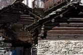 Ponteggia - Costruzioni a 'càrden'