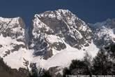 Il Monte Gruf, in testa alla Valle Orgina